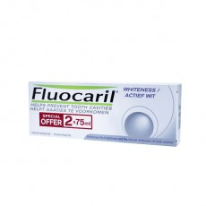Fluocaril dentifrice blancheur 2x75ml