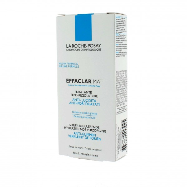 la roche posay effaclar mat hydratant visage 40ml. Black Bedroom Furniture Sets. Home Design Ideas