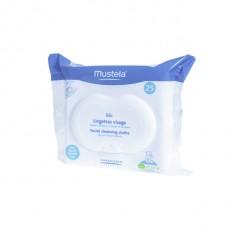 Mustela Lingettes visage bébé boîte de 25