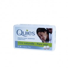 Quies cire naturelle 8 paires