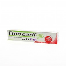Fluocaril dentifrice Junior 7-12 ans fruits rouges
