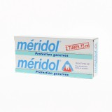 Meridol dentifrice lot de 2 tubes 75 ml
