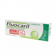 Fluocaril dentifrice complete menthe lot de 2 x75ml