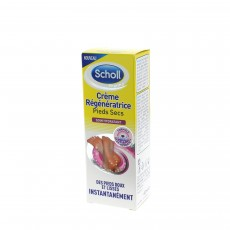 Scholl Crème régénératrice pieds secs 60ml