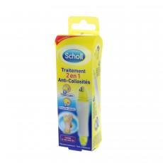 Scholl traitement anti-callosités 2 en 1