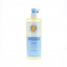 Klorane Gel douceur moussant bébé corps et cheveux 500ml