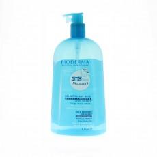 Bioderma Abcderm Moussant gel nettoyant corps et cheveux 1L