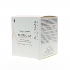 A-Derma Nutrialba crème visage peaux sèches 50 ml