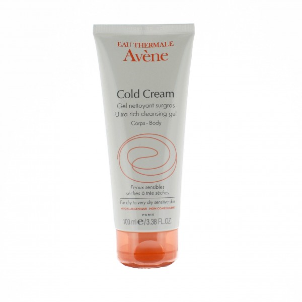av ne cold cream gel nettoyant surgras corps 100ml. Black Bedroom Furniture Sets. Home Design Ideas