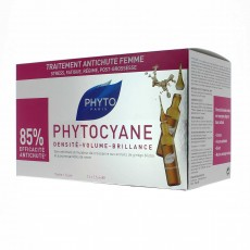 Phytocyane traitement anti-chute capillaire 12 ampoules